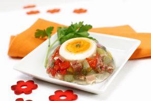 Kuchařka - paštiky, aspiky a teriny