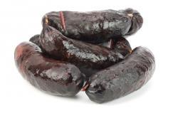 Blood sausage – vařený