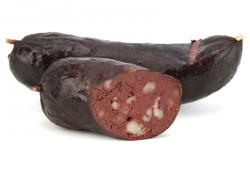 Black pudding – vařený (Anglie)