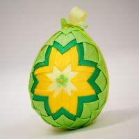 Velikonoční vajíčko - patchwork