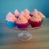 Vanilkovo malinové cupcaky
