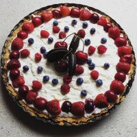 Puff pastry tarte