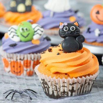 Halloweenské recepty – připravte nejlepší cupcakes