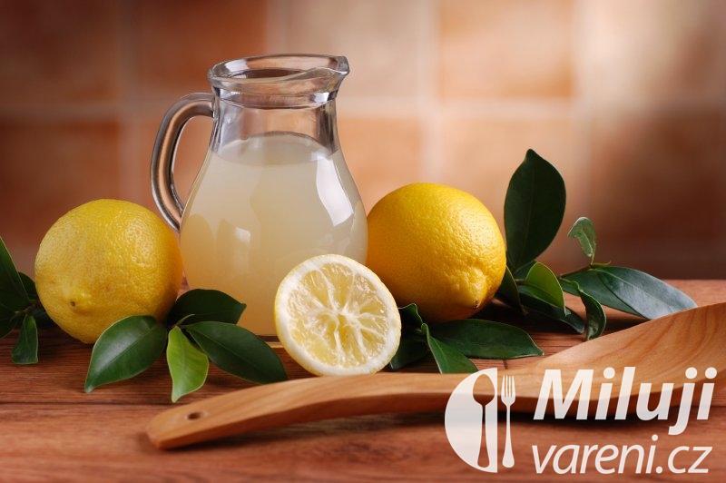 Šťáva z citrónů
