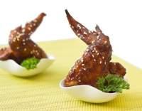 Sezamová křidélka na grilu