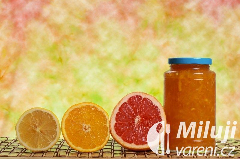 Grapefruitová marmeláda