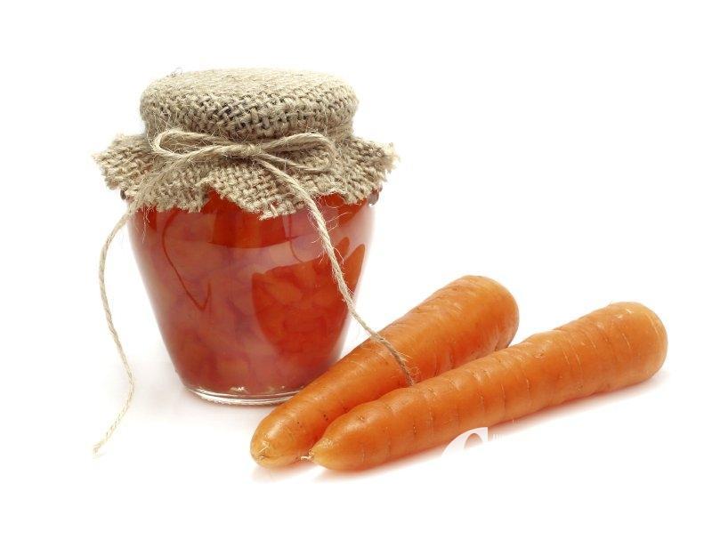 Mrkvová marmeláda se zázvorem