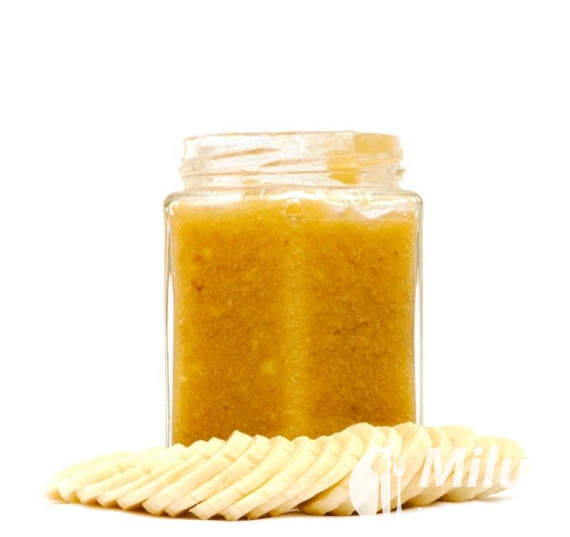 Broskvová marmeláda s banánem