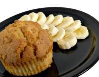 Banánové muffiny s müsli