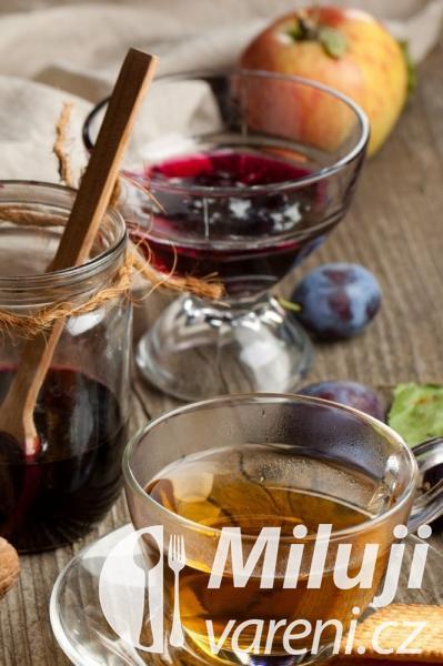 Ovocný čaj se švestkami - Mésil ča