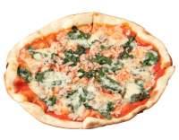 Kuřecí pizza se špenátem
