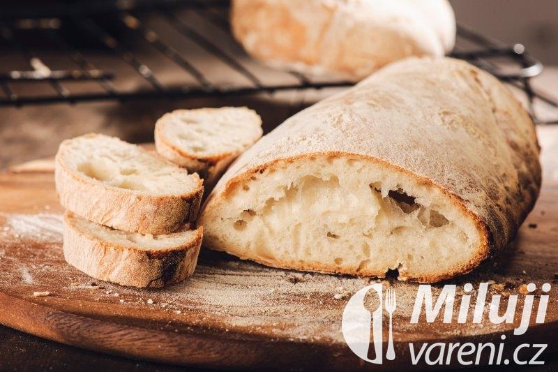 Ciabatta - italský domácí chléb