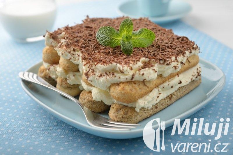 Tiramisu s vanilkou