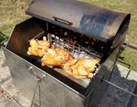 Grilované kuře s pivem