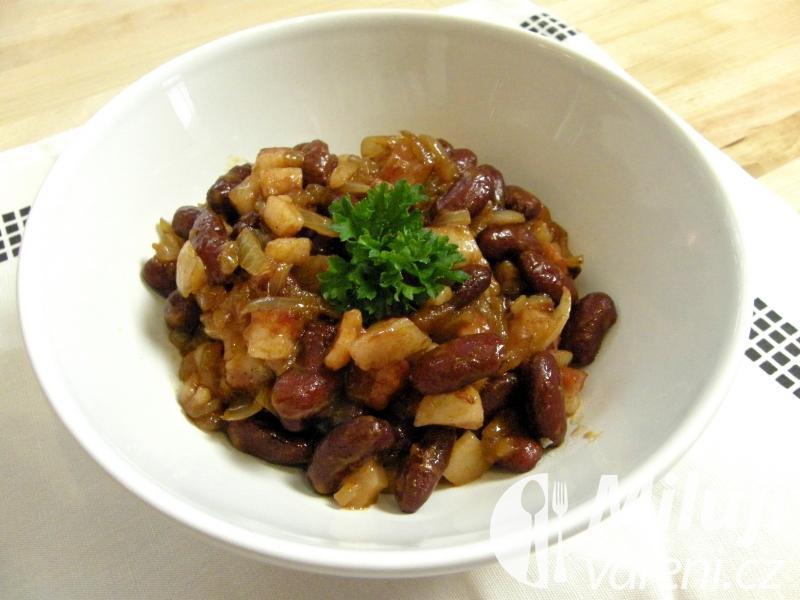 Bretaňský fazolový salát