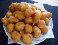 Sýrové chrupinky z odpalovaného těsta