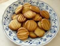 Rýhované máslové sušenky