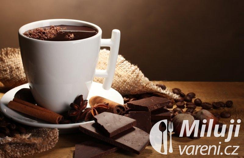 Horká čokoláda Chocolat chaud