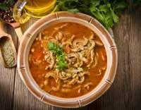 Dršťková polévka z Turecka