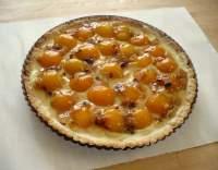 Francouzský meruňkový koláč