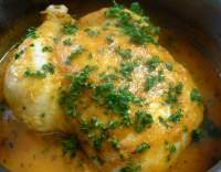 Dušené kuře po provensálsku