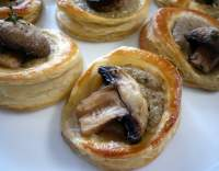 Vol-au-vents se žampiony