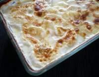 Bramborový gratin se sýrem