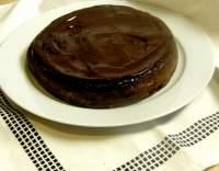 Čokoládový dort s mandlemi