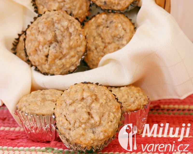 Muffiny s ovesnými vločkami