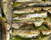 Čerstvé sardinky pečené s citronem
