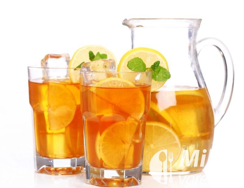 Ledový čaj s hřebíčky