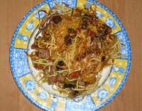 Chalupářské zapékané špagety