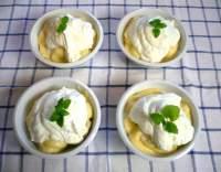 Banány s citronovým krémem