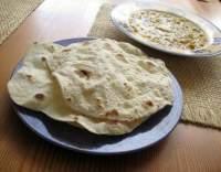 Indický chléb čapátí