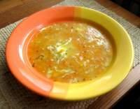 Polévka mrkvová