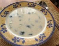 Hustá cuketová polévka