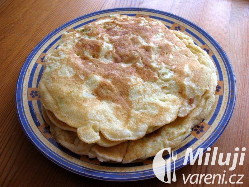 Omeleta s hlávkovým zelím