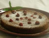 Mandlovo-pomerančový koláč