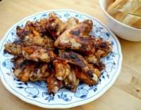 Pikantní limetková kuřecí křidélka