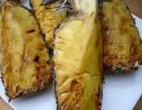 Grilovaný ananas s rumovou polevou