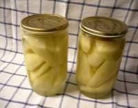 Hruškový kompot s citronem