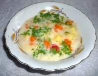 Polévka z jarní zeleniny
