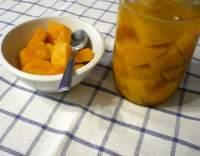 Dýňový kompot s ananasovou šťávou