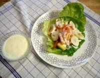 Americký salát s ananasem