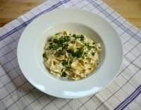 Fettuccine v sýru