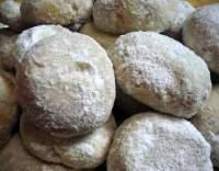 Kourambiedes - řecké cukroví