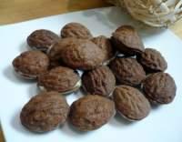 Kakaové oříšky s koňakovým krémem