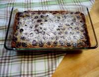 Višňové clafoutis s vanilkou