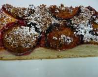 Švestkový koláč s perníkem