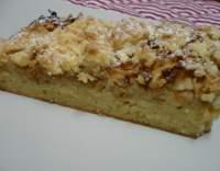 Rychlý litý koláč s jablky